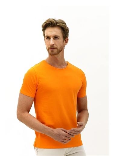 Kiğılı Tişört Oranj